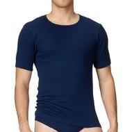 Herrkläder CALIDA Classic Cotton 1:1 T-shirt - Admiral
