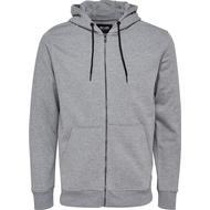 Hoodie Herrkläder Only & Sons Sweat Hoodie Jacket Grey/Light Grey Melange