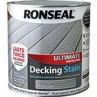 Glaze Paint Glaze Paint price comparison Ronseal Ultimate Protection Decking Woodstain Grey 2.5L