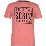 T-Shirt Herrkläder SoulCal Flock T-shirt Dubarry Marl