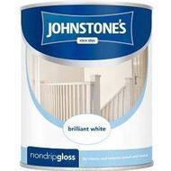 Metal Paint Metal Paint price comparison Johnstones Non Drip Gloss Wood Paint, Metal Paint White 0.75L