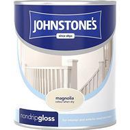 Metal Paint Metal Paint price comparison Johnstones Non Drip Gloss Wood Paint, Metal Paint Beige 0.25L