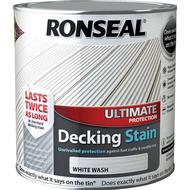 Glaze Paint Glaze Paint price comparison Ronseal Ultimate Protection Decking Woodstain White 2.5L