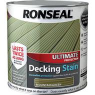 Glaze Paint Glaze Paint price comparison Ronseal Ultimate Protection Decking Woodstain Green 2.5L