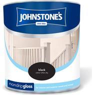 Metal Paint Metal Paint price comparison Johnstones Non Drip Gloss Wood Paint, Metal Paint Black 0.25L