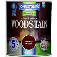 Glaze Paint Glaze Paint price comparison Johnstones Woodcare Woodstain Brown 0.75L