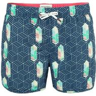 Herrkläder Muchachomalo Free Like Bird Boardshorts Blue Patterned