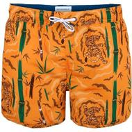 Herrkläder Muchachomalo Tiger Wood Boardshorts Orange Patterned