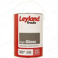 Metal Paint Metal Paint price comparison Leyland Trade High Gloss Wood Paint, Metal Paint White 5L