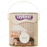 Wood Paint Wood Paint price comparison Leyland Trade Non Drip Gloss Wood Paint, Metal Paint White 2.5L