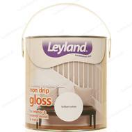 Metal Paint Metal Paint price comparison Leyland Trade Non Drip Gloss Wood Paint, Metal Paint White 2.5L