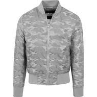 Herrkläder Urban Classics Tonal Camo Bomber Jacket Stone