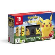 Game Consoles Deals Nintendo Switch - Yellow - Pokémon: Let's Go, Pikachu