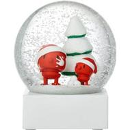 Snekugle Snekugle Hoptimist Santa Snow Globe Snekugler