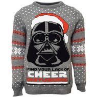 Herrkläder Numskull star Wars Darth Vader Christmas Sweater Unisex