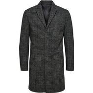 Rockar Herrkläder Selected Wool Coat - Grey/Grey