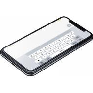 Transparent Mobiltelefon tilbehør Cellularline Second Glass Ultra Screen Protector (iPhone X/XS)