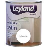 Metal Paint Metal Paint price comparison Leyland Trade Quick Dry Satin Wood Paint, Metal Paint White 0.75L