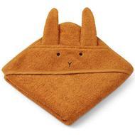 Babyhåndklæde Babyhåndklæde Liewood Albert Hooded Baby Towel Rabbit Mustard