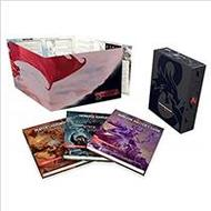 Inbunden Böcker Dungeons & Dragons Core Rulebooks Gift Set (Special Foil Covers Edition with Slipcase, Player's Handbook, Dungeon Master's Guide, Monster Manual, DM S