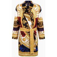 Herrkläder Versace Silk I Love Baroque Bathrobe Unisex - Gold