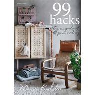 Inbunden Böcker 99 hacks: från massproducerat till genuin inredning