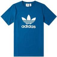 T-Shirt Herrkläder Adidas Trefoil Tee - Legend Marine
