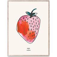 Børneværelse Soft Gallery Mado x Strawberry Small Plakat