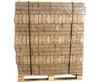 Lyse træbriketter helpalle 96 pakker - tilbud