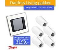 Danfoss Connect Danfoss living Connect pakke Link styring med 1- 30 termostater (Radiator) Pakkepris fra 2123,00
