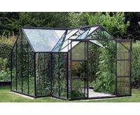 Vitavia Sirius 13m² Alu+Glass Aluminium Drivhussokkel inkl. Inkluderet