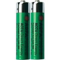 AgfaPhoto Laddbart batteri R03 (AAA) NiMH AgfaPhoto HR03 950 mAh 1.2 V 2 st
