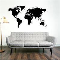 NiceWall World Map 56x100cm