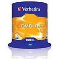 Verbatim DVD-R 4.7GB 16x Spindle 100-pack