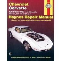 Chevrolet Corvette 1968 Thru 1982