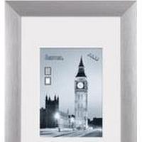 Hama London, Aluminium, Sølv, Enkelt billedramme, 9 x 13 cm, 130 mm, 180 mm