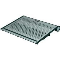 Conrad Components Notebook-stativ med kylning Conrad Components Alu XL Aluminium Silver