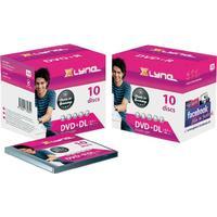 Xlyne DVD+R 8.5GB 8x Jewelcase 10-Pack