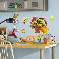 Wallsticker med Super Mario