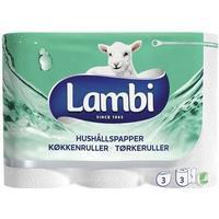 Lambi Hushållspapper 13m 12-pack