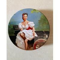 Retro tin dåser med Marilyn Monroe 2 stk.