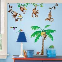 Monkey Business Wallsticker