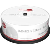 Primeon DVD+R 8.5GB 8x Spindle 25-Pack