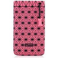 Bone mobiltaske - pink