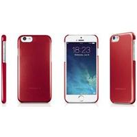Macally Snap-on Case - iPhone 6 4.7â - Red metallic