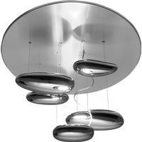 Artemide Mercury Mini Soffitto Halo ceiling lamp, Inox