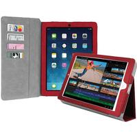 SBS MOBILE IPAD AIR/AIR2 BOOK CASE WITH STAND RED