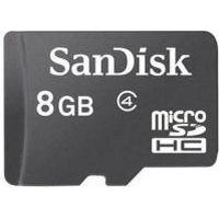 8 GB Micro SD kort - SanDisk
