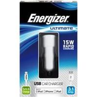 Energizer Ultimate iPhone 5/6 | 2in1 Billaddare 3.1Amp.