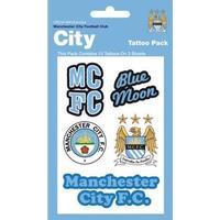 TFS Manchester City Tattoo Pack